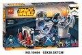 Bela 10464 Star Wars estrella de la muerte duelo final Bloques de Construcción Ladrillos Niños Juguetes Compatible 75093 con e