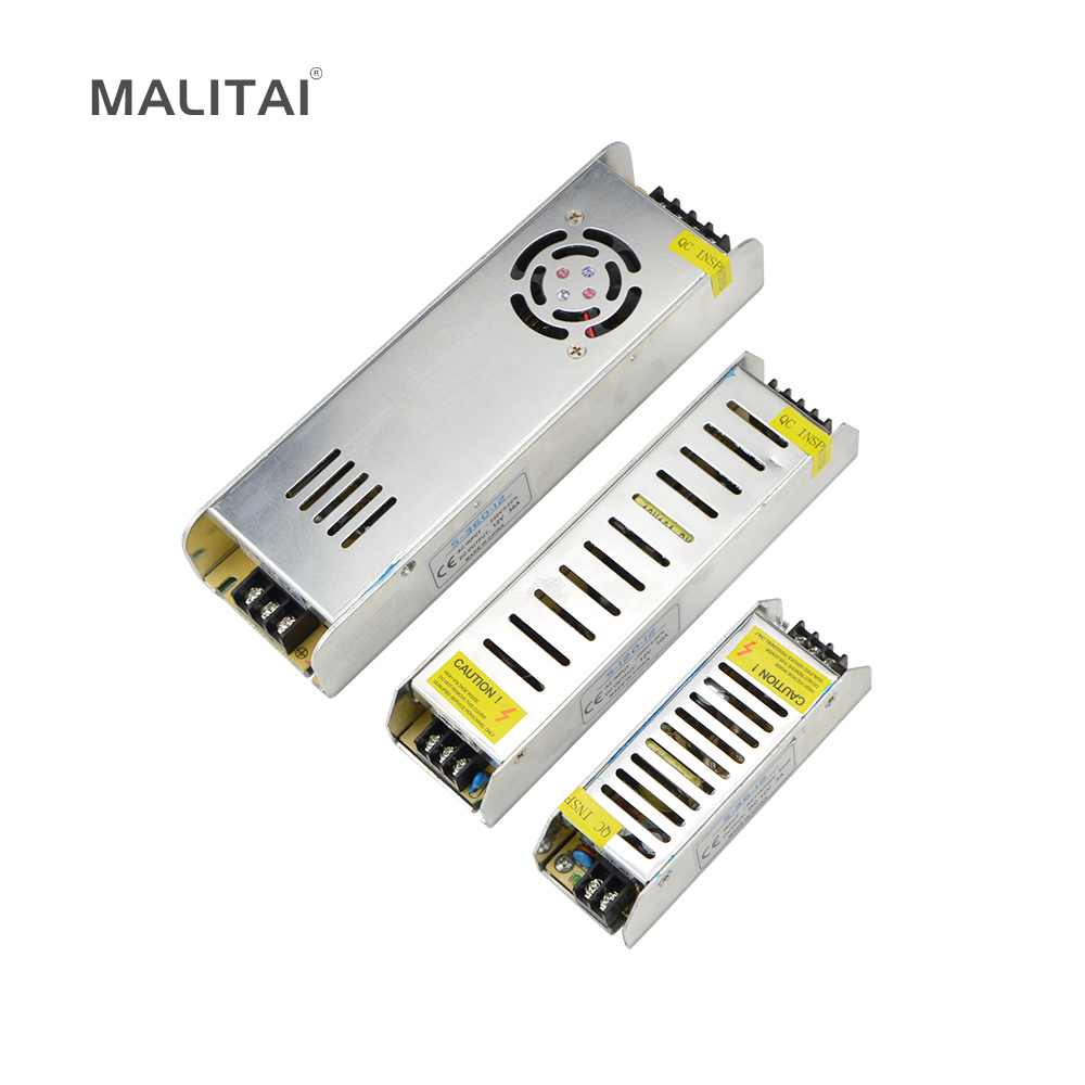 LED driver Adaptadores de corriente dc12v 3a 5a 8a 10a 12a 16.5a 20a 30a iluminación Transformadores 36 w 60 W 102 W 120 W 150 W 180 W 200 W 240 W 360 W