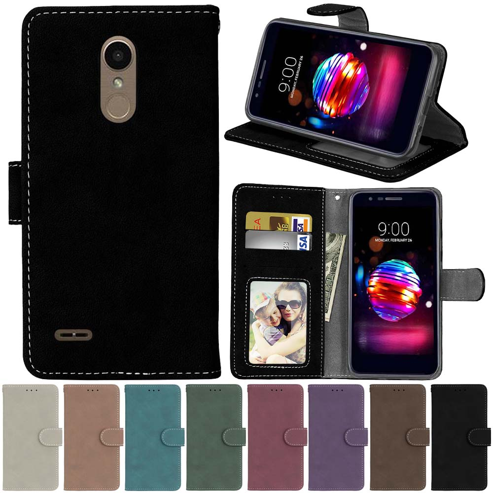 For Lg K10 2018 Case For Lg K11 K10 Plus 2018 K10 Alpha 2018 Cover Leather Wallet Phone Cases For Lg K8 2018 K9 Case Cover Bgas Wallet Cases Aliexpress