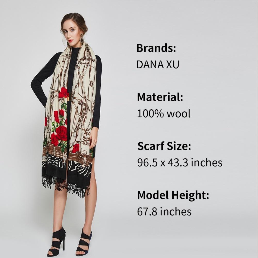 Žene Zimski šal Luksuzni Brand Foulard Femme Muslimanski hidžab - Pribor za odjeću - Foto 4