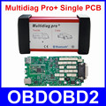 Best Quality Multidiag Pro+Bluetooth Single Green PCB 2014.R2/R3 4G TF Card For CAR TRUCK Diagnostic Tool Freel Ship