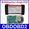 Mejor Calidad Multidiag Pro + Bluetooth Solo Verde PCB 2014. R2/R3 4G Tf Para El COCHE Herramienta de Diagnóstico de CAMIONES Freel Nave