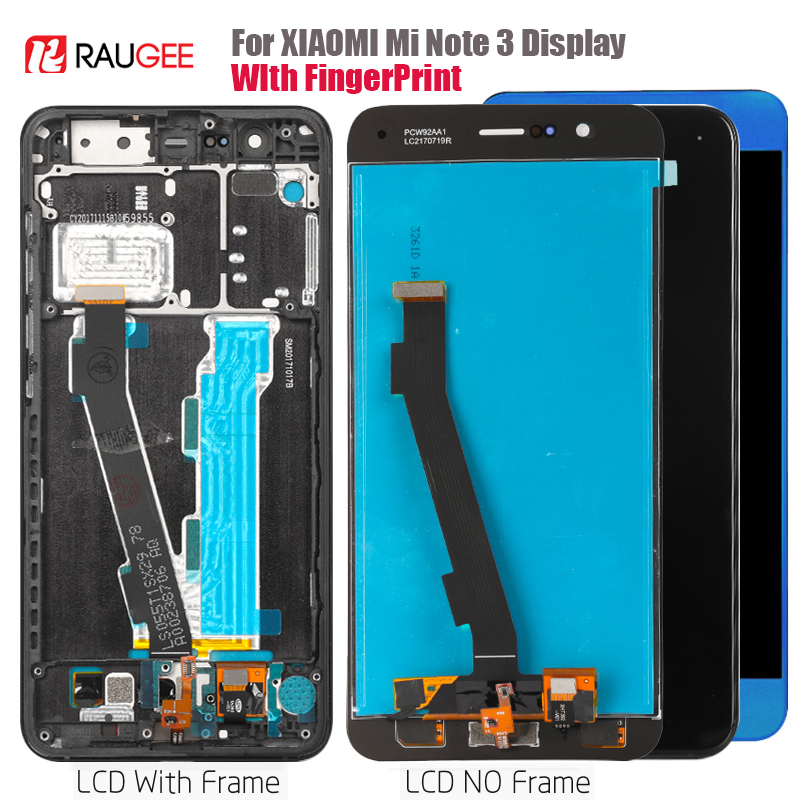 display For Xiaomi Mi Note 3 LCD Screen Display Touch Screen Digitizer Replacement For Xiaomi Mi