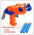 Arma atirador Arma rifle nerf Bala arma elétrica arma de brinquedo macio bala Arma Elétrica Bala Mole meninos Brinquedo Dardos Táticos