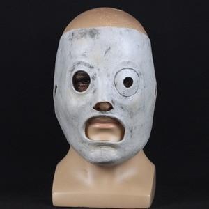 Image 2 - Slipknot Mask Corey Taylor Leader singer Cosplay TV Slipknot Latex Dj Masks Halloween Party Props