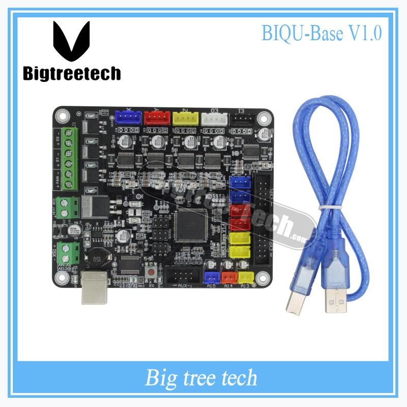 Prix pour 3D composants intégré carte mère BIQU BASE V1.0 compatible Mega2560 & RAMPS1.4 RepRap Mendel Prusa i3 similaire à MKS BASE V1.5