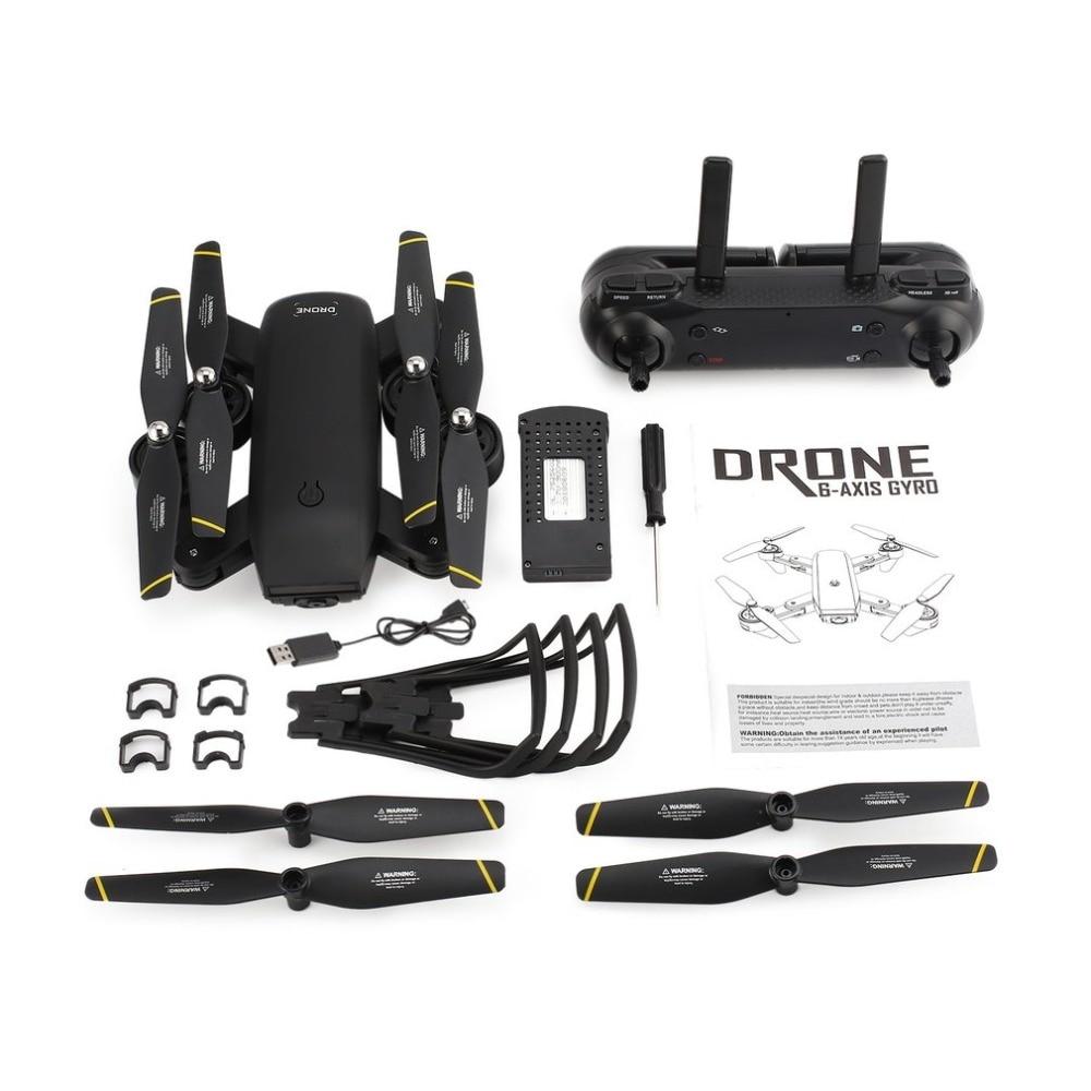 drone profissional RC Foldable Camera Drones HD Wide Angle Live Video Quadrocopter Selfie Quadcopter VS Eachine E58 SG700 Квадрокоптер