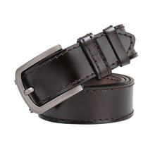 Belt Tan Plain 1 Ply Lined 1.5″ Heavy Duty Stitch Leather Belt Cow Boy West Jeans Belts For Men