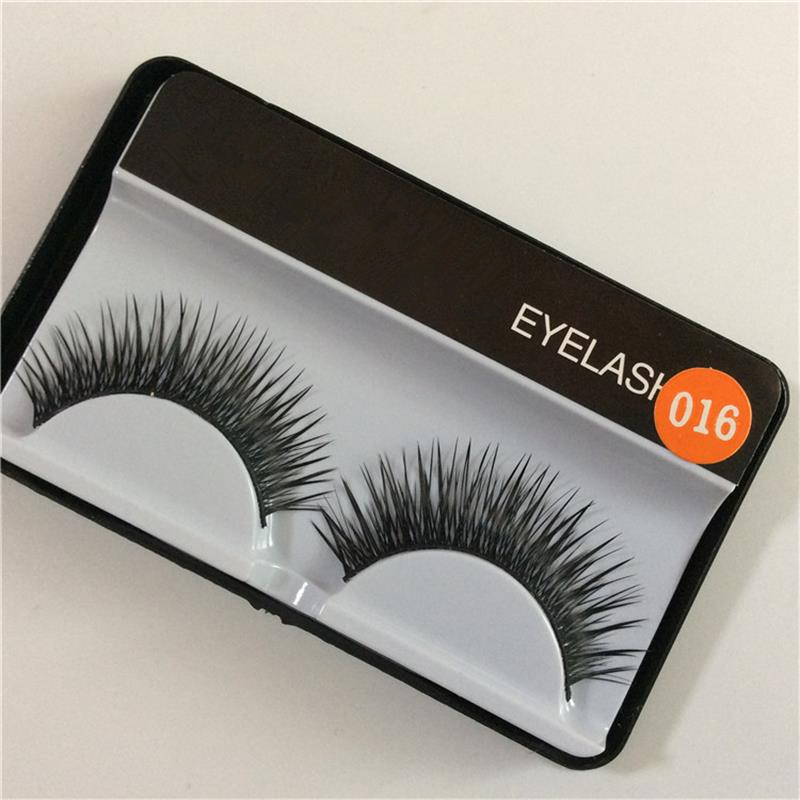 new fashion Natural 1 pairs high quality false eyelashes for women makeup naturally thick cross tableaux
