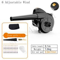 New 1000W 220V Electric Hand Operated Blower for Cleaning computer Electric blower computer Vacuum cleaner,Suck dust, Blow dust