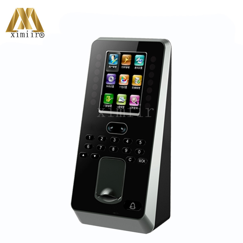 New Arrival Linux System TCP/IP Multibio800 Iface3 Face Time Attendance And Access Control With Fingerprint Reader