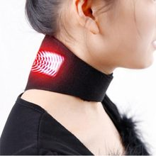 Neck Belt Tourmaline Self Heating Magnetic Therapy Neck Wrap Belt Brace Pain Relief Cervical Vertebra Protect Health Care(China)