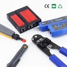 Сети LAN инструментарий сетевой кабель компьютер RJ45 RJ11 Кабельный тестер Diagnostic Tool Kit NF1107