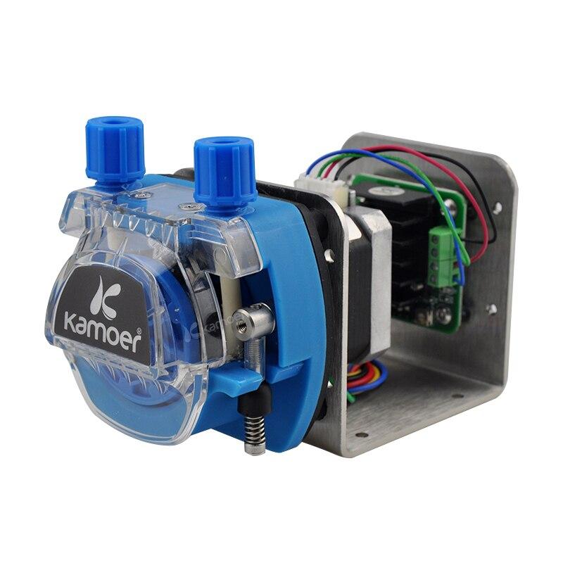 Kamoer KCM ODM High precision small peristaltic dosing pump 12V 24V with stepper motor