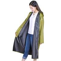 Adult Raincoat Long Raincoat Women Men Jacket Windbreaker Women Rainwear Poncho Feminino Hat Regenponcho Waterproof Coat 50KO174