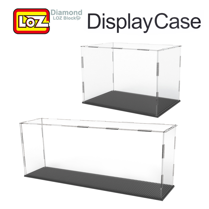 LOZ Display Case For Diamond Building Blocks Big Transparent Display Box For LOZ Toys For Age 14+ Offical Authorized
