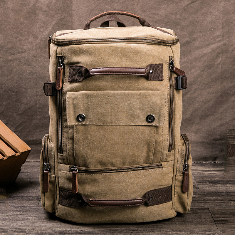 Tactical Military Army Backpack Men Male Canvas Bag Bagpack Molle Camping Hiking Climbing Sport Large Travel Outdoor Back Pack
