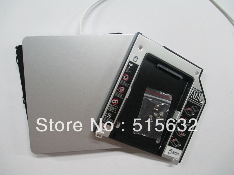 USB 2.0 Enclosure Case for Superdrive + 2nd SATA Caddy for MacBook Pro Unibody