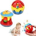 2 шт. детские игрушки удовольствия мало громкий звон мяч кольцо разви-бесплатная ребенка интеллект, Обучение схватив способность погремушки детские игрушки 0 - 12 месяца