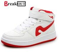Promotion 2015 New Fashion Shoe For Men High Top Casual Shoe Zapatillas Deportivas High Quality Flat