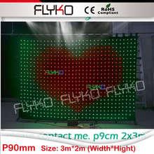 Бесплатная доставка 2×3 м ТВ show фоне flyko под занавес P9
