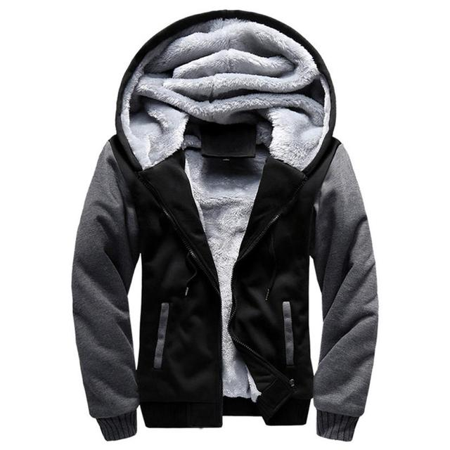 cab88dd4e US $28.61 |The North Of Plus Size 5XL Jackets Men Warm Fur Hooded Warm  Parka Men Plus Velvet Thicken Baseball Jacket Face FREE SHIPPING-in Jackets  ...