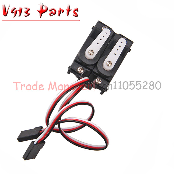 Wholesale Servo V913-13 for WL V913 2.4G 4CH rc RC helicopter spare part WLtoys Free shipping