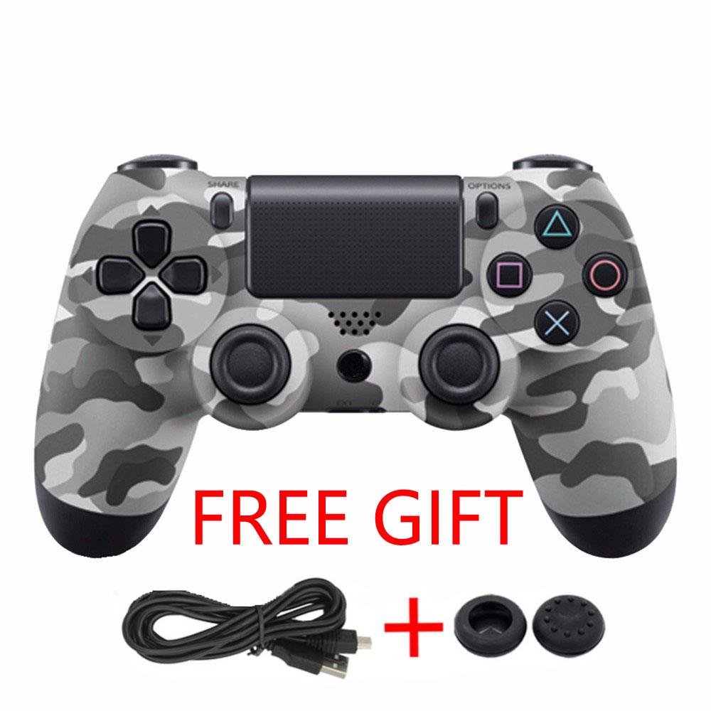 High quality wireless bluetooth Game controller for Sony PS4 Controller 4 Joystick Gamepads for PlayStation 4 Console +Free Gift high quality original 10pcs new hdmi port connector socket for sony for playstation 4 for ps4 best price