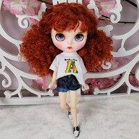 12''1/6 настройки куклы DIY совместное тело Блит с одеждой и обувью Горячие образовательные игрушки своими руками для девочек новый 30 см BJD