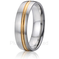 Anel De Casamento Wealth And Prosperity UK Style Titanium Jewelry Promise Wedding Rings