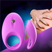 Silicone Vibrating Penis Ring For Men Delay Penis Rings Cock Ring Hot Erotic Sex Toys for Woman Dropshipping Ju03