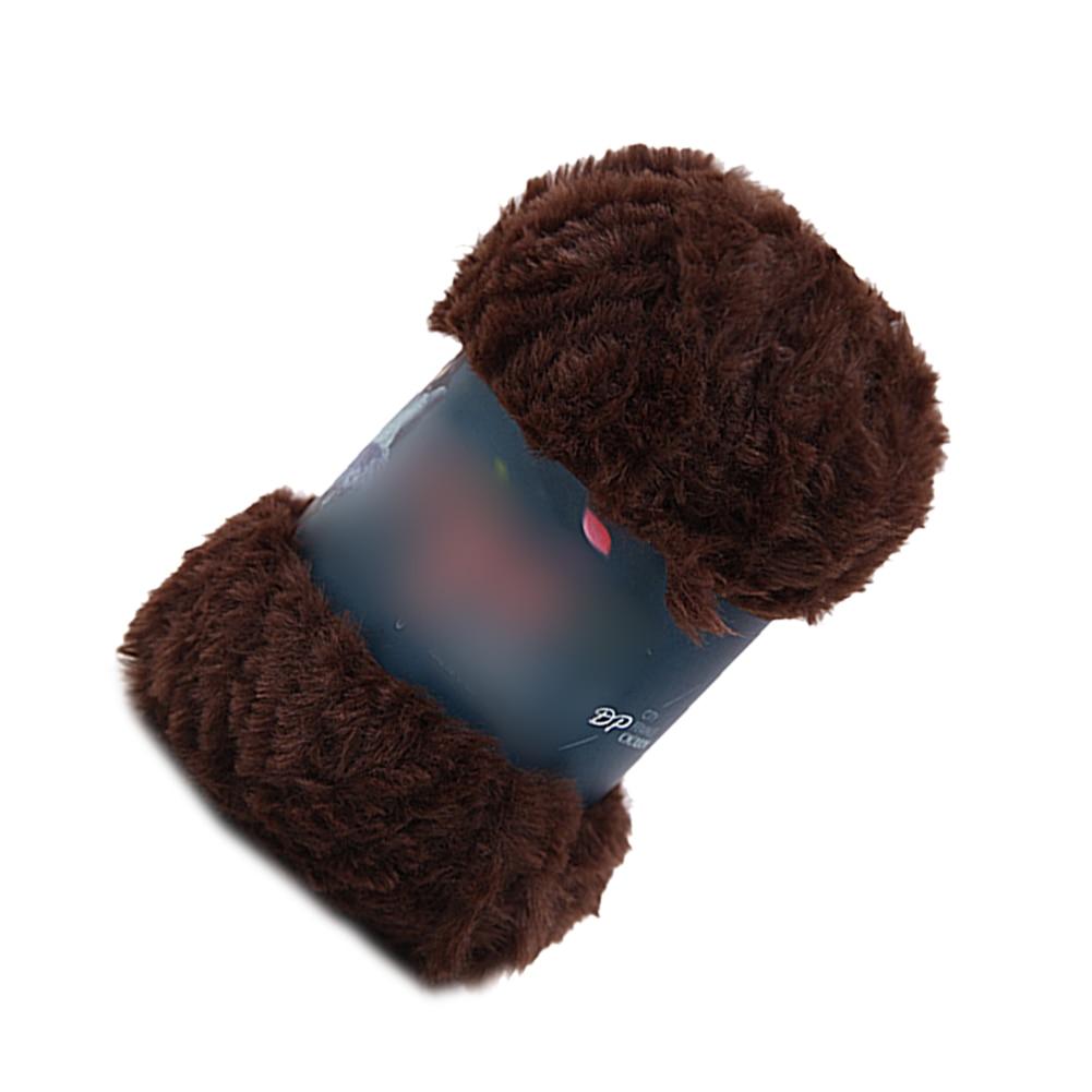 Gamuza de piel imitación visón lana pluma Hilo de lana de visón lana ... b095a53dcd5