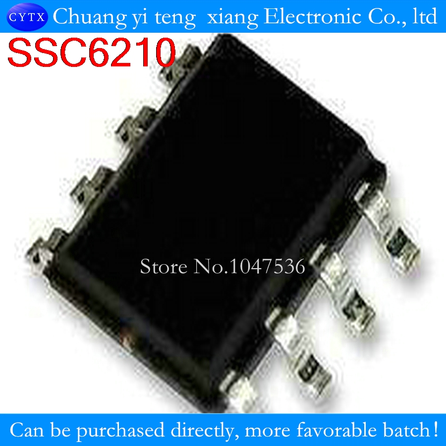 <font><b>SC6210</b></font> SSC6210-TL SSC6210 SOP8 pin LCD management chip 100% new original image