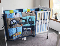 baby bedding 7pcs baby boy crib bedding set cuna jogo de cama baby juegos de sabanas kids