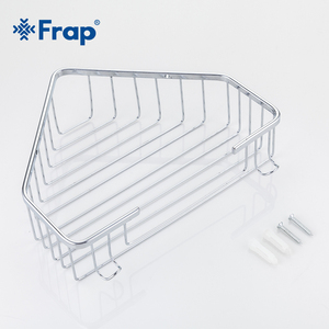 Image 5 - Frap Regal Dusche Edelstahl Regale Hängen Bad Regal Dusche Regal Shampoo Halter Dusche Veranstalter Korb F335