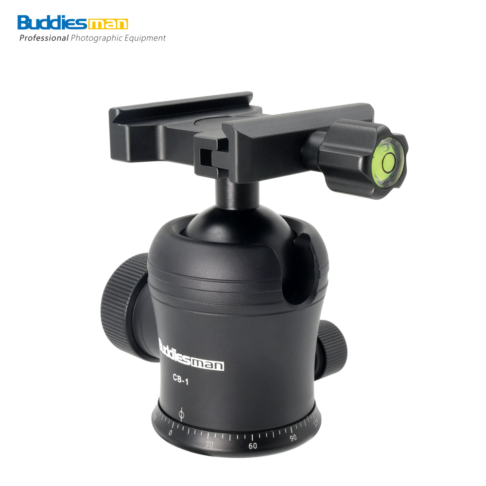 Universal Arca Swiss Tripod Ball Head with Quick Release Plate, Load to 20 kg/44.09 lbs for Canon Cameras and Nikon Cameras CB-1 50pcs lot wire hanger fastener hanging photo picture frame quick easy clutch release nickel plate movable head ceiling