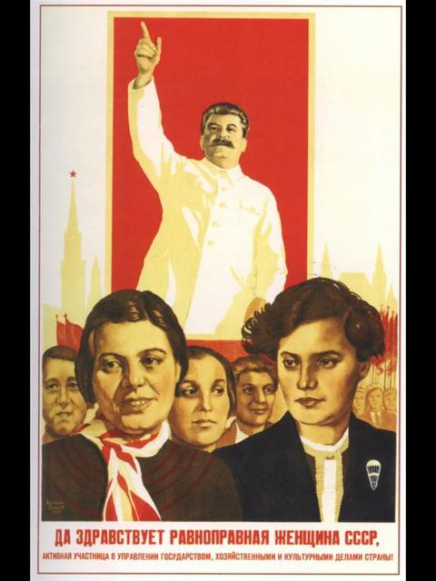 Leader Joseph Stalin Propaganda Soviet Union USSR CCCP Vintage Retro Canvas Frame Poster DIY Wall Posters Home Decor Gift