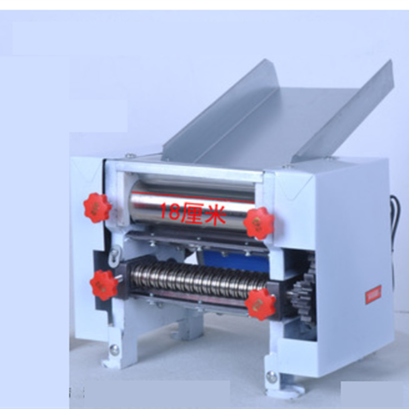 220V Electric Noodles White Color Machine With 5 Extra Knife 2mm And 6mm ,3mm And 9mm ,1cm ,1.2cm, 1.75cm Kinfe