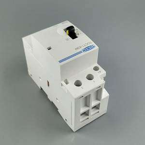Image 4 - TOCT1 2P 63A 220V/230V 50/60HZ Din rail Household ac Modular contactor with Manual Control Switch 2NO or 1NO 1NC or 2NC