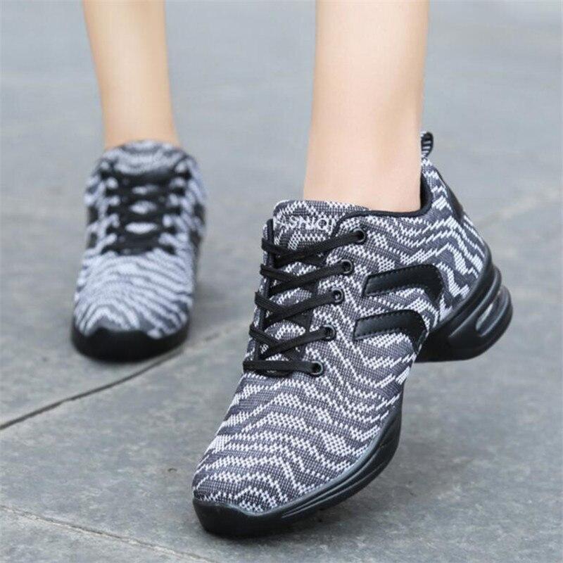bd2f0c61c55 Dames Dansschoenen Sneakers dansschoenen sneakers voor vrouwen schoenen Maat  35 40 mesh sport dans sneakers vrouwen in Dames Dansschoenen Sneakers ...