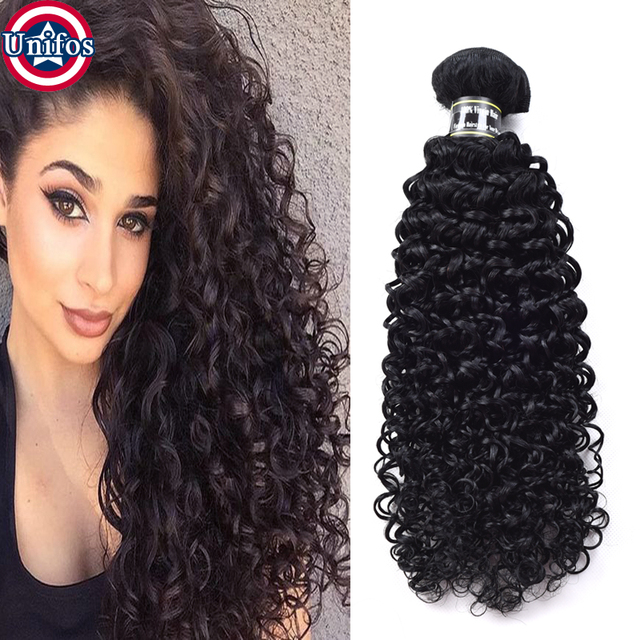Peruvian Curly Hair 3 Bundles Jet Black Kinky Curly Virgin Hair Best