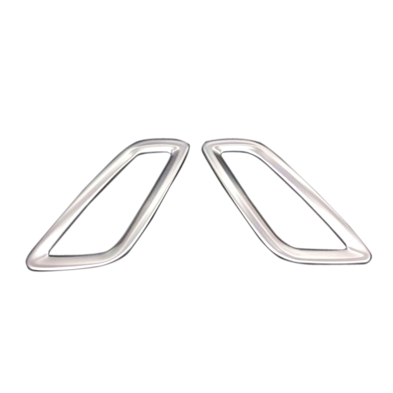 interior accessories dashboard air outlet vent decorative trim steel 2pcs for opel insignia for