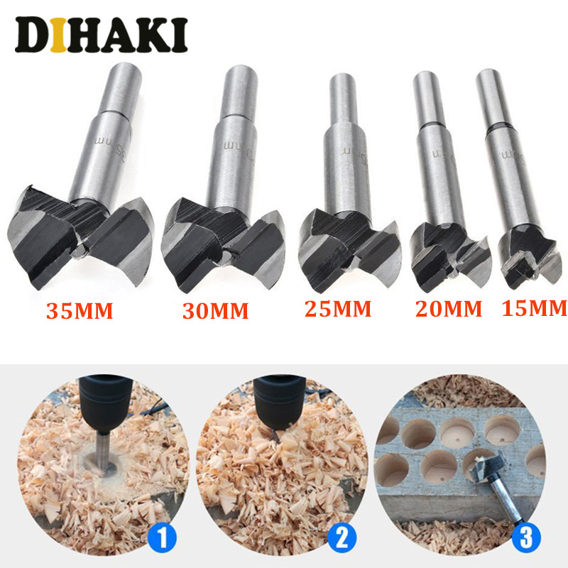 20mm 40mm Wood Forstner Drill Bit Woodworking Hole Saw Cutter Boring Bits Nice