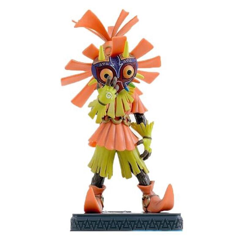 Elsadou The Legend of Zelda Breath of the Wild Link Majoras Mask Action Figure Doll 16cm PVC Limited-Edition the legend of jig dragonslayer