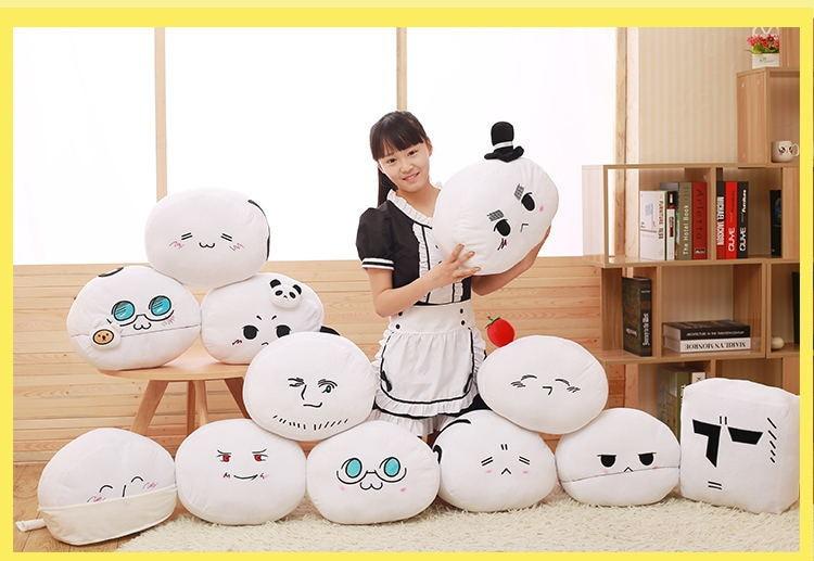 25cm Anime Kawaii APH Emoji Face Cartoon Plush Toy Axis Powers Hetalia Peluche Doll Birthday Gifts peluche