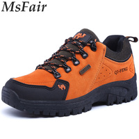 MSFAIR 2017 New Hiking Shoes Mountaineering Camping Shoes Men Sneakers Walking Shoes Women Men Hunting Trekking