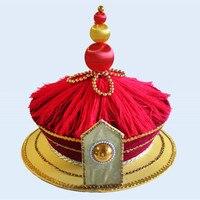 qing dynasty emperor hat for men ancient king hat chinese emperor hat ancient dynasty cosplay head wear