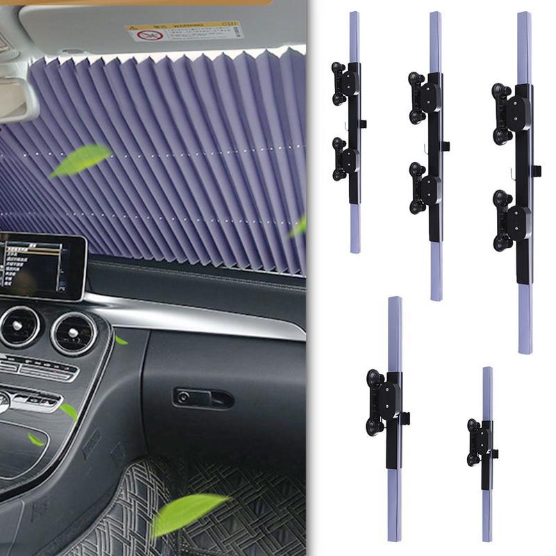 Atualização pára-brisa do carro sun sombra extensão automática pára-sol janela do carro protetor de viseira