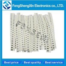 33values X20pcs=660pcs 1206 1% SMD Resistor Kit  1ohm-1M ohm