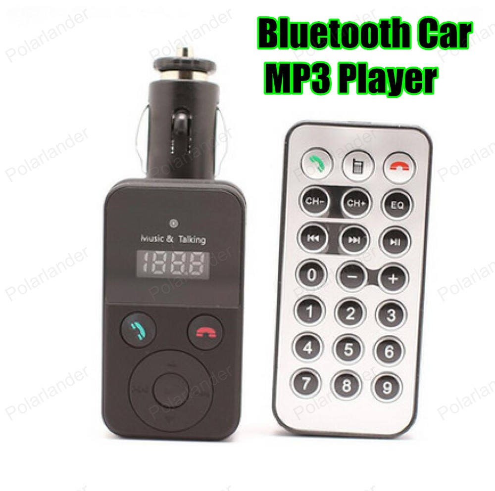 ⃝Car Bluetooth transmisor FM kit MP3 playermodulator LCD manos ...